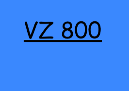 VZ 800