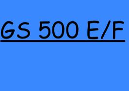 GS 500 E/F