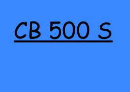 CB 500 S